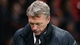 David Moyes during Manchester United defeat by Swansea