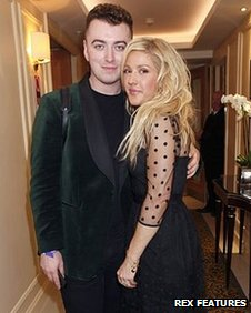 Sam Smith and Ellie Goulding