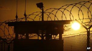Guantanamo Bay Naval Base, Cuba, on 20 November 2013