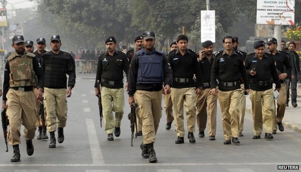 Police in Lahore