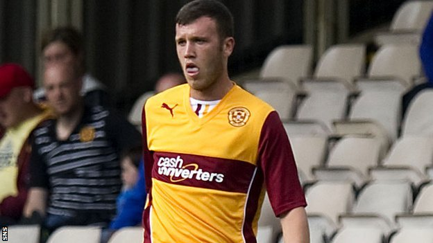 Motherwell's Adam Cummins