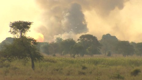 Ammunition destroyed near Bentiu