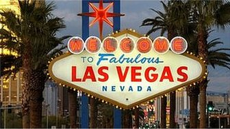 Las Vegas sign, copyright Las Vegas Convention and Visitor Authority