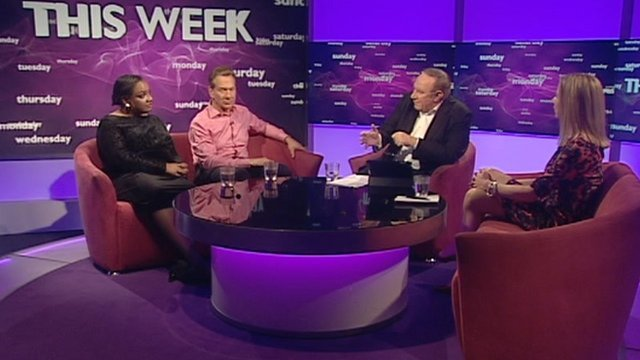 Diane Abbott, Michael Portillo, Andrew Neil and Katie Hopkins