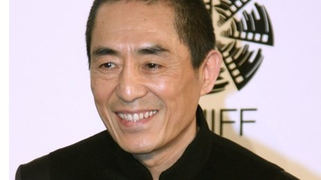 Zhang Yimou is a celebrated movie director in China