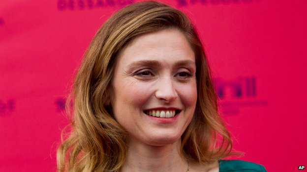 Julie Gayet in Paris on 12 June 2013