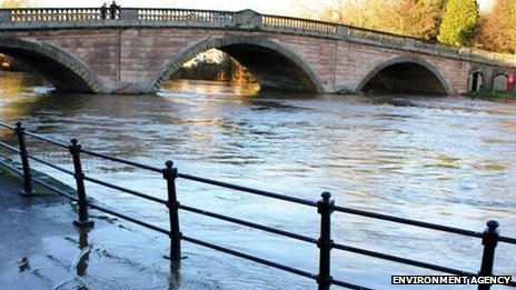 River Severn in Bewdley