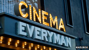 Everyman Cinema at Birmingham Mailbox