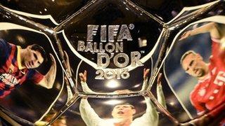 Lionel Messi, Cristiano Ronaldo, Franck Ribery