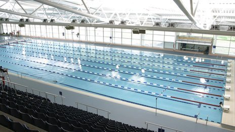The Wales National Pool in Swansea