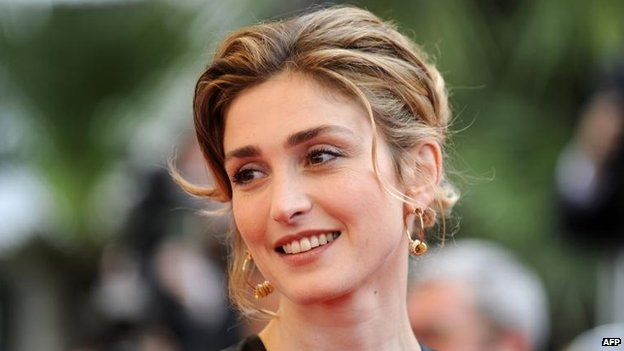 Julie Gayet in 2009 in Cannes