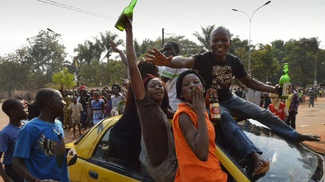 Celebrations in Bangui, CAR