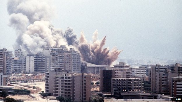 Israeli shelling of West Beirut in 1982