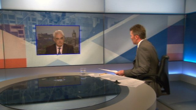 Alistair Darling interviewed Bill Whiteford