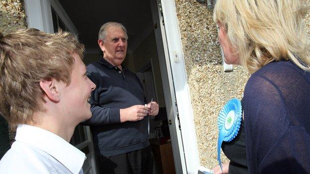 Tory candidate Caroline Dinenage