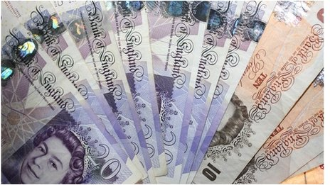 sterling cash notes