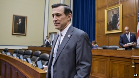 Congressman Darrell Issa in Washington on 4 December 2013