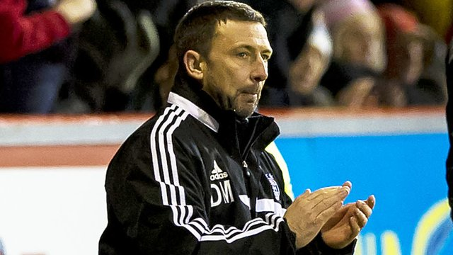 Interview - Aberdeen manager Derek McInnes