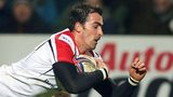 Ruan Pienaar scores Ulster's second try in Friday's game