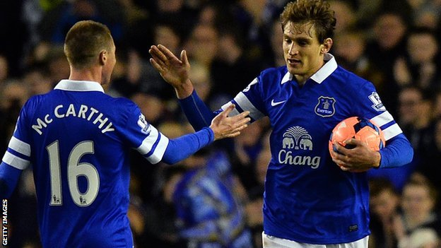 Hull sign Everton's Nikica Jelavic