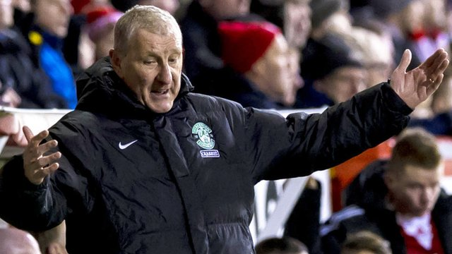 Interview - Hibs boss Terry Butcher