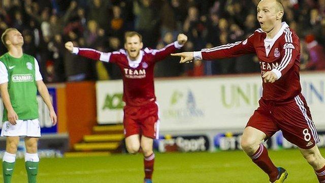 Highlights - Aberdeen 1-0 Hibernian