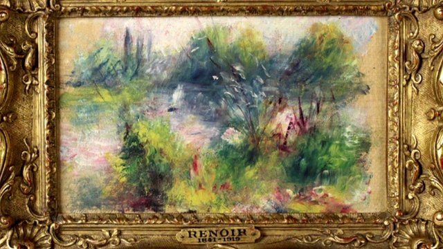 The Renoir painting at the centre of the court case