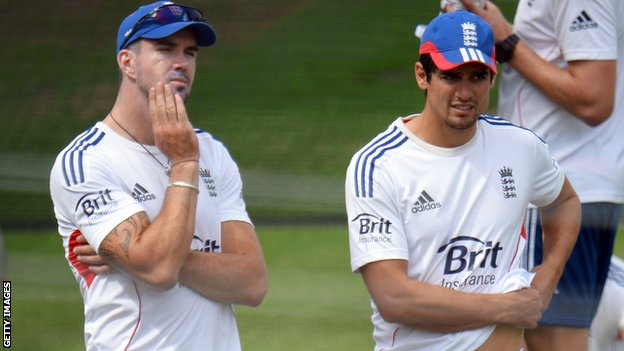 Kevin Pietersen & Alastair Cook