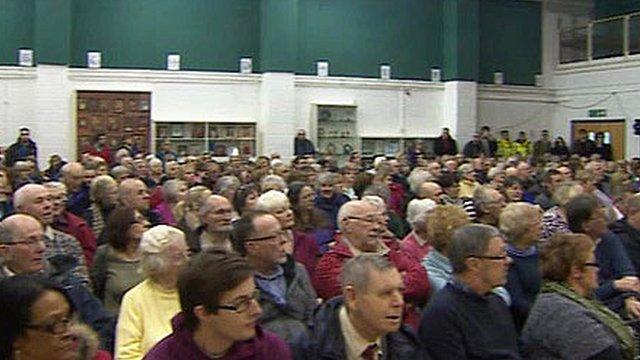 Meeting in Aberystwyth