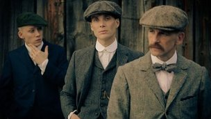 Joe Cole, Cillian Murphy and Paul Anderson