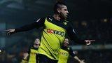 Watford midfielder Javier Acuna