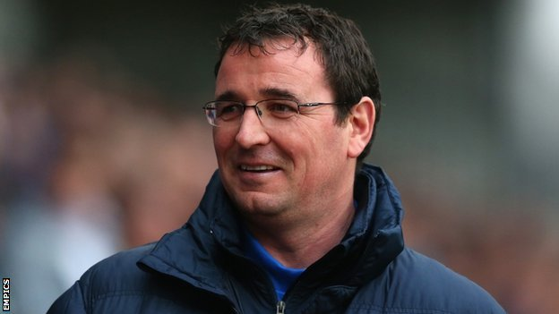 Blackburn Rovers manager Gary Bowyer