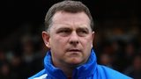 Huddersfield manager Mark Robins