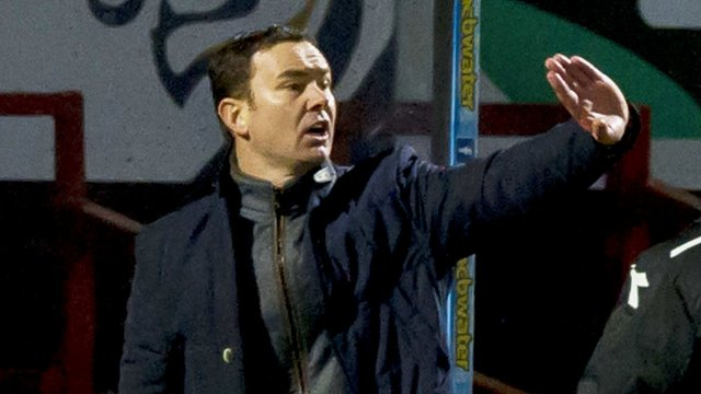 Interview - Ross County manager Derek Adams