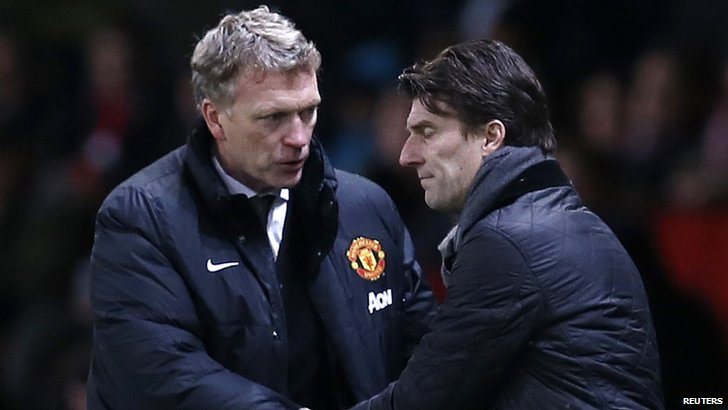 David Moyes & Michael Laudrup