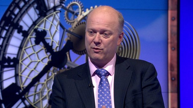 Conservative Justice Secretary Chris Grayling