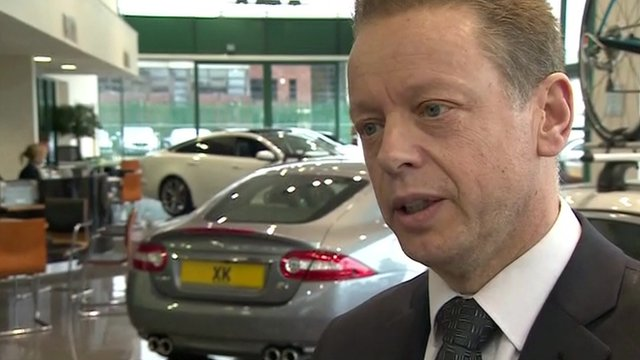 Andrew Broomhead, managing director, Royles Jaguar