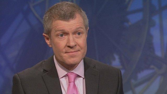 Scottish Liberal Democrat leader Willie Rennie