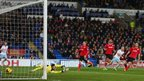 Mark Noble strikes deep in injury time to seal a 2-0 win for West Ham at Cardiff