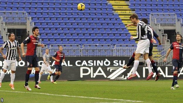 Juventus striker Fernando Lloriente