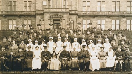 Craiglockhart military hospital