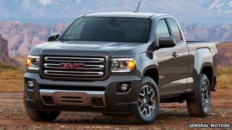 GMC Canyon pick-up truck