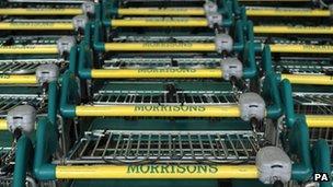 Morrisons shopping carts