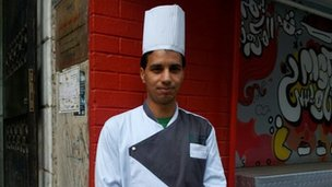 Mohammed Abdel Aal, 25, chef in Cairo