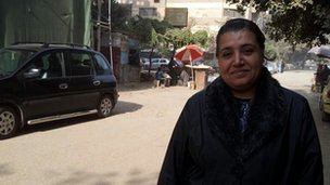 Om Joe, 45, housewife in Cairo