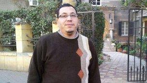 Alaa Ibrahim, 35, banker in Cairo