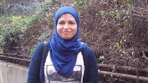Rawan Ahmed, 23, interior designer in Cairo