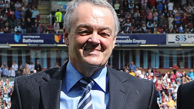 Bolton Wanderers chairman Phil Gartside