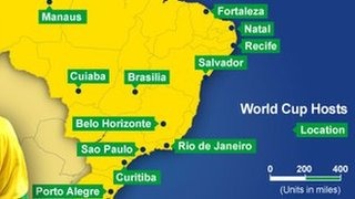 World Cup host cities