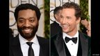 Chiwetel Ejiofor and Matthew McConaughey